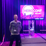 Vantage team member, Kevin Clark, at HeroConf 2015 by PPC hero