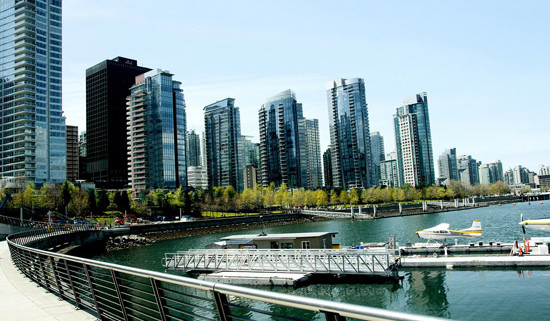 Beautiful sunny Vancouver