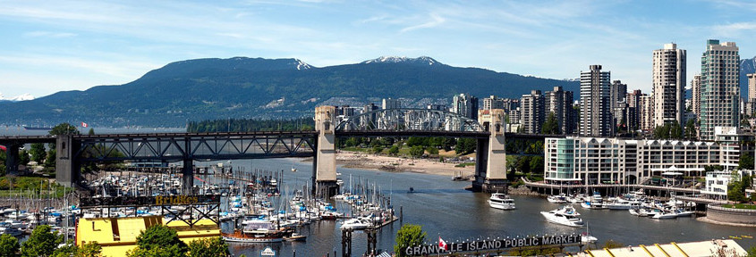 Picture of Vancouver, home of Vantage Search Marketing